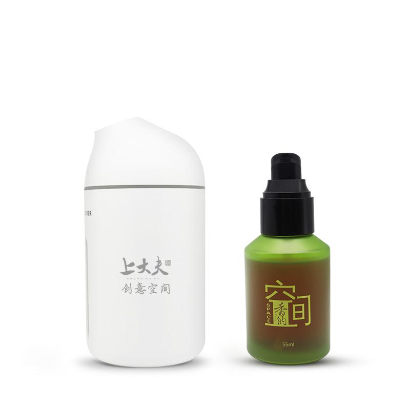 香纳空间 精油香薰机+香纳空间植物活力精粹55ml 加湿器