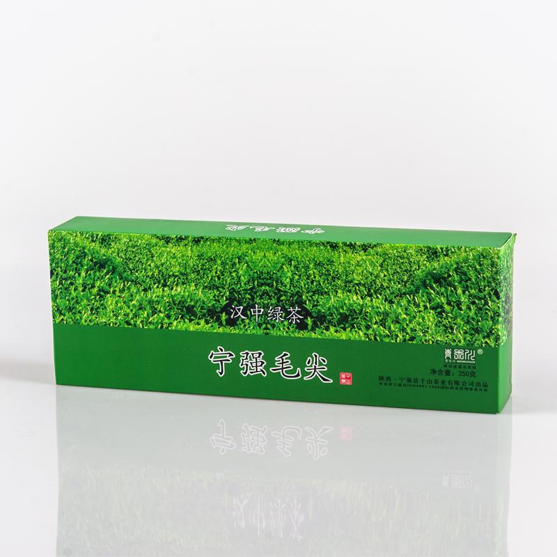 宁强毛尖 250g 千山茶 有机绿茶