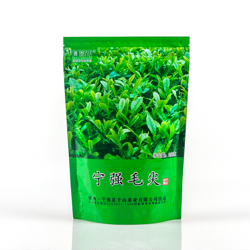茶宁强毛尖 250克袋 青木川一级有机绿茶