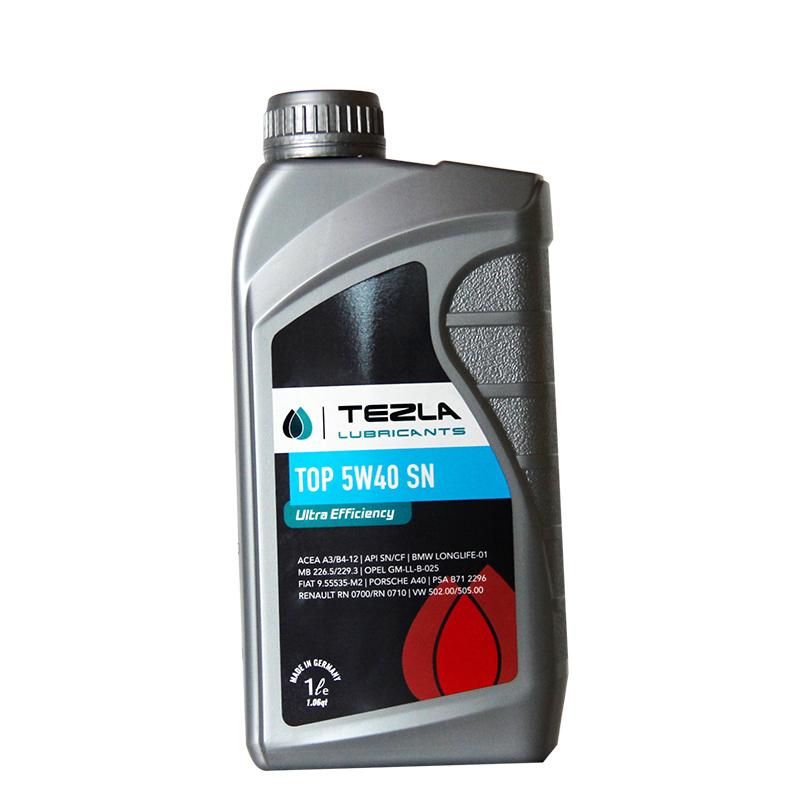 德国原装TEZLA特兹利润滑油 全合成 TOP 5W40 1L