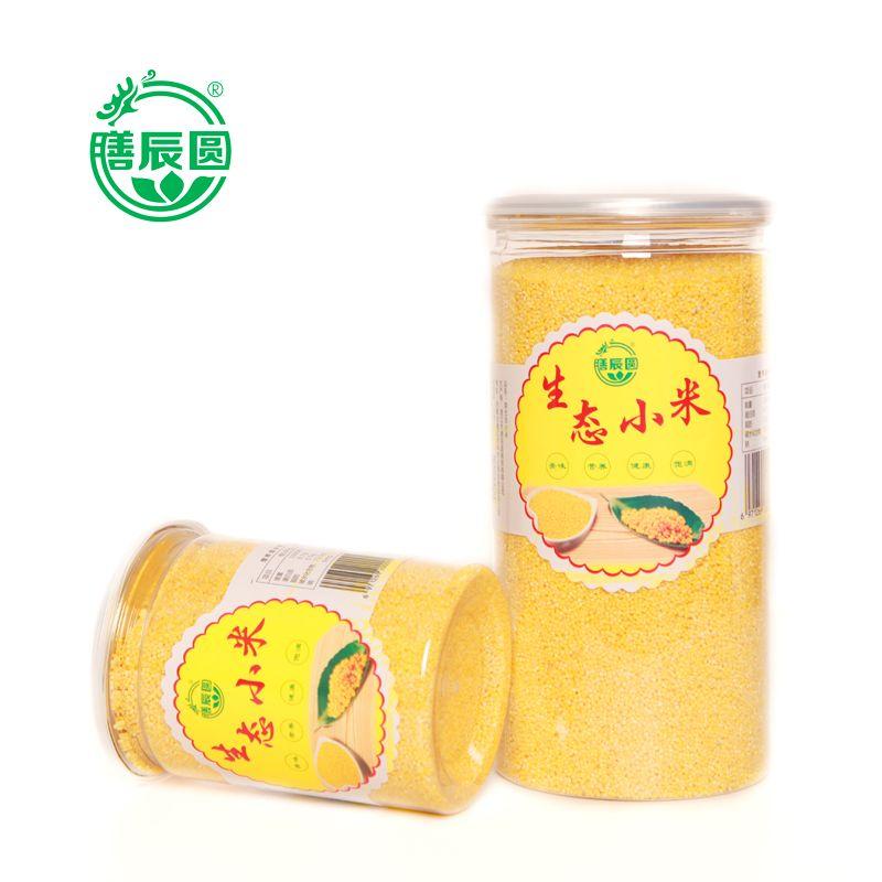 膳辰圆 生态小米,小黄米,500g,1250g桶装,质纯味正香软可口