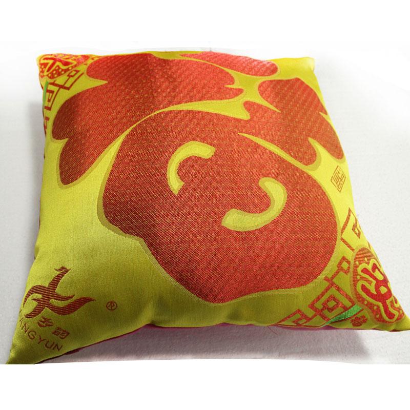 天然棉--织锦福字多功能抱枕1对