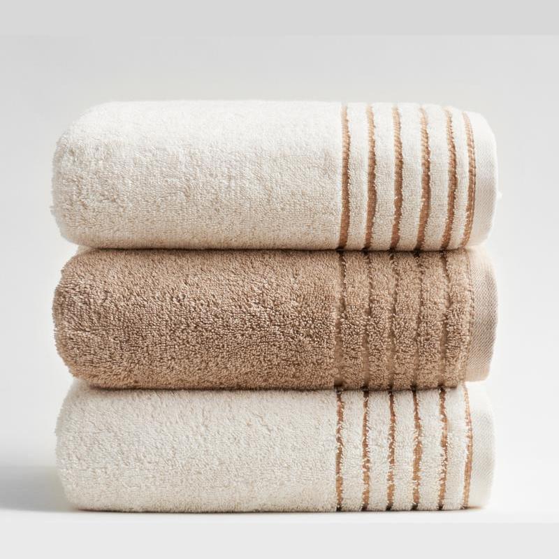 【小亘】 天然彩棉毛巾方巾浴巾  100%棉婴幼儿标准吸收 不漂白 无染色 无甲醛 无荧光剂
