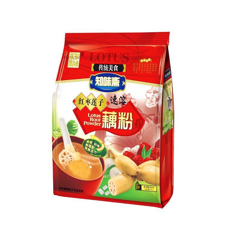 知味斋红枣莲子藕粉 600g
