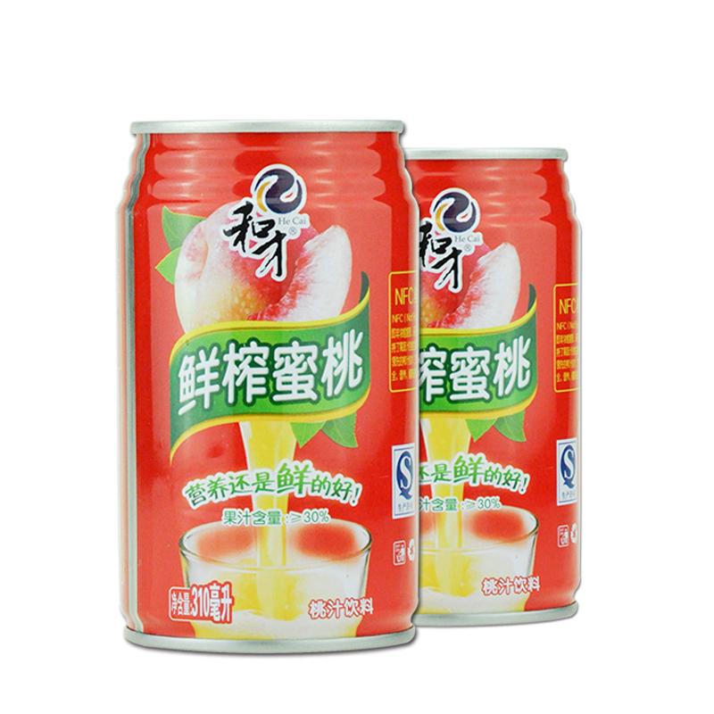 和才NFC鲜榨果汁30%蜜桃汁(310ml×8瓶)包邮(偏远地区除外)