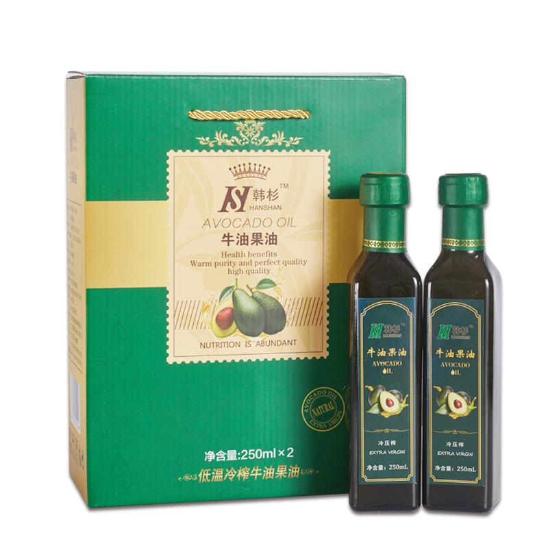 【韩杉】牛油果油 鳄梨(牛油果) 营养食用油