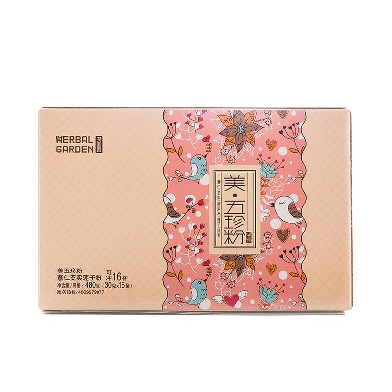 满圃香 美五珍粉 薏米 芡实 红枣 高粱米 湘莲子  包邮