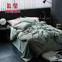 【盈馨家纺】TB英伦风织带款水洗棉(绿色环保、无甲醛)全棉四件套(床单款)-巴洛克