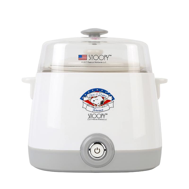 史努比隔水电炖锅白瓷炖盅厨房炖盅煲汤营养电炉煮粥SP-N165