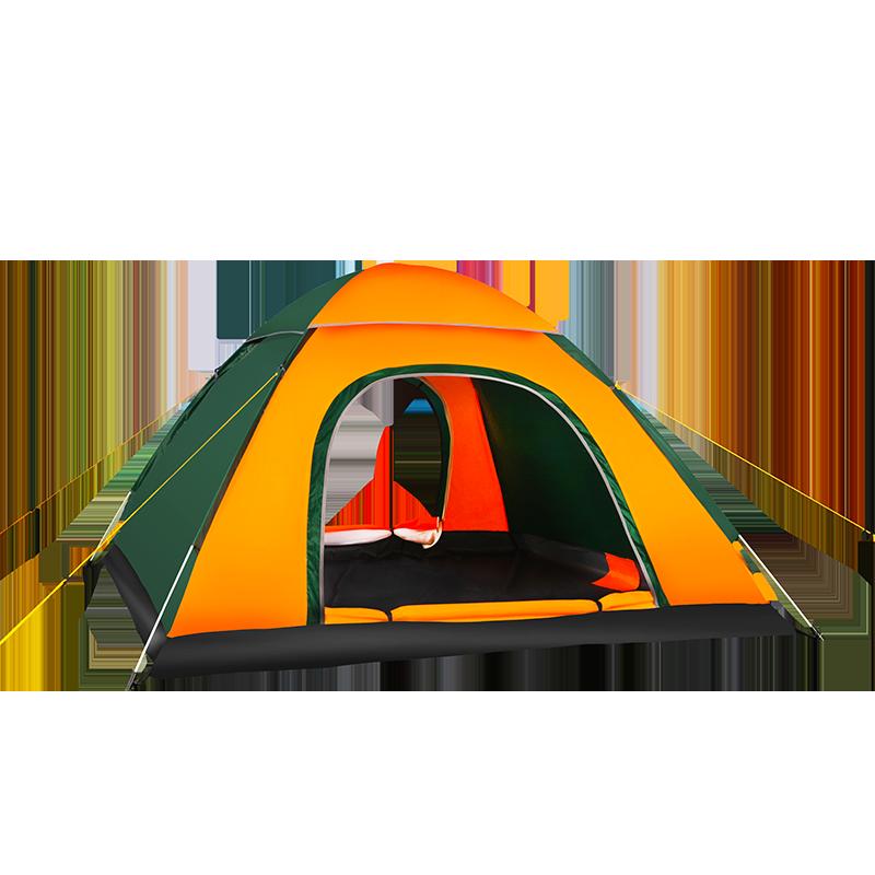 【MAKI ZAZA】户外双人(最多4人)单层野营速开帐篷 MKZ-001
