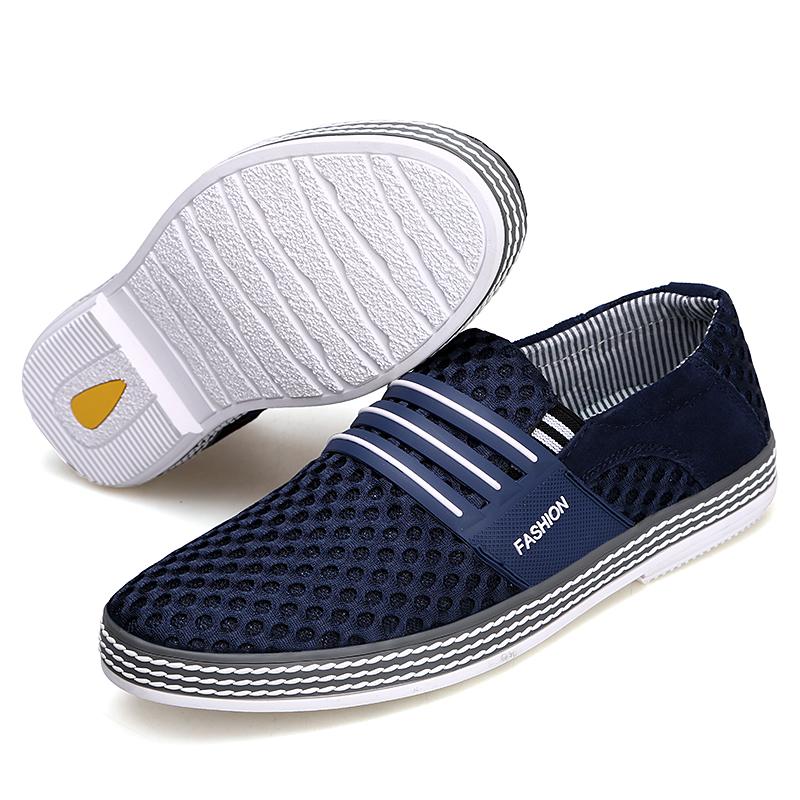 菲马特男鞋夏季透气网鞋防臭爸爸鞋跑步运动休闲鞋网眼百搭凉鞋潮
