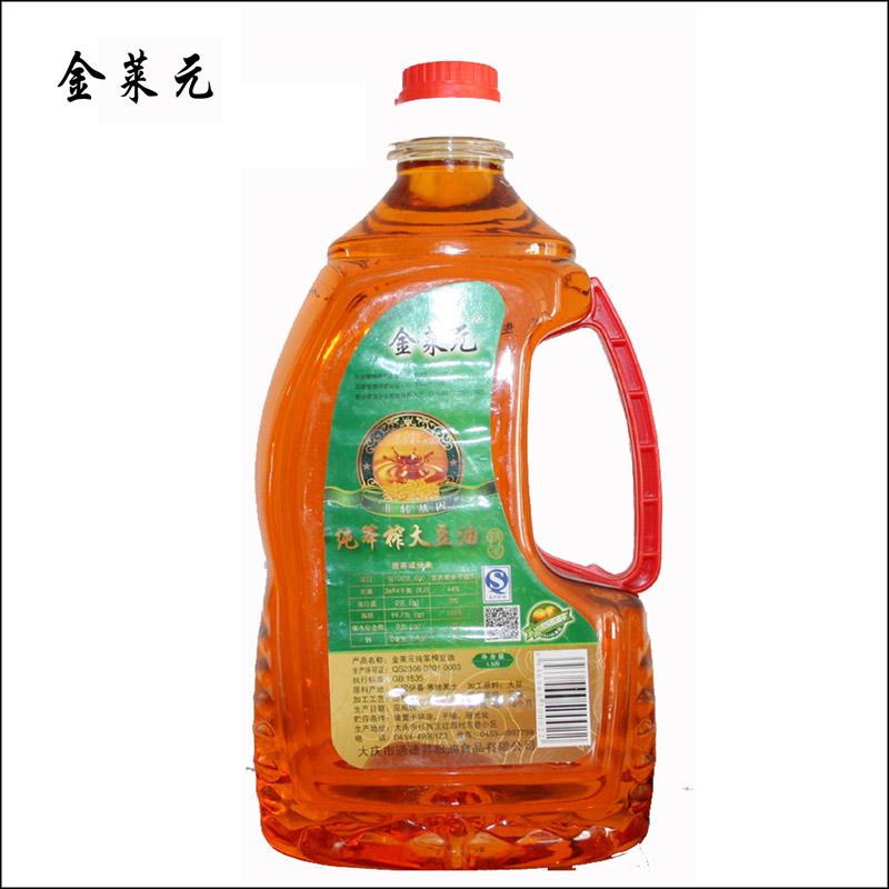 金莱元纯笨榨大豆油1.5L/桶