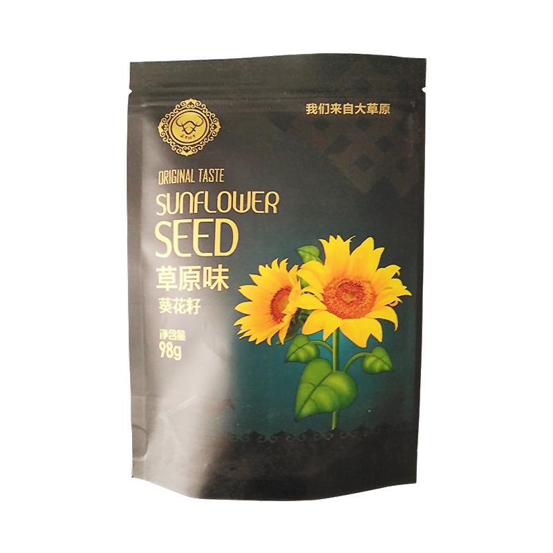 翁牛特牛 内蒙赤峰原味瓜子,颗粒饱满,草原气息,原香滋味! 98g/袋×6袋