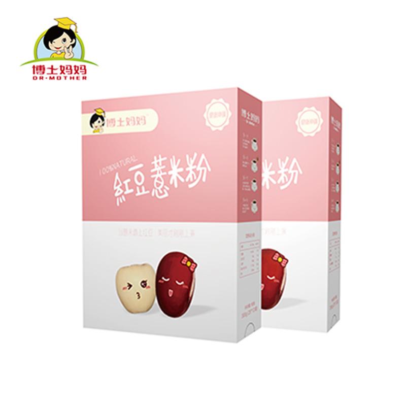 博士妈妈红豆薏米粉3盒装,包邮