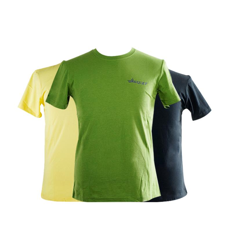 【达瑰孜】夏季新款男款T恤logo款,95%棉不起球,不掉色DGZ1701男款