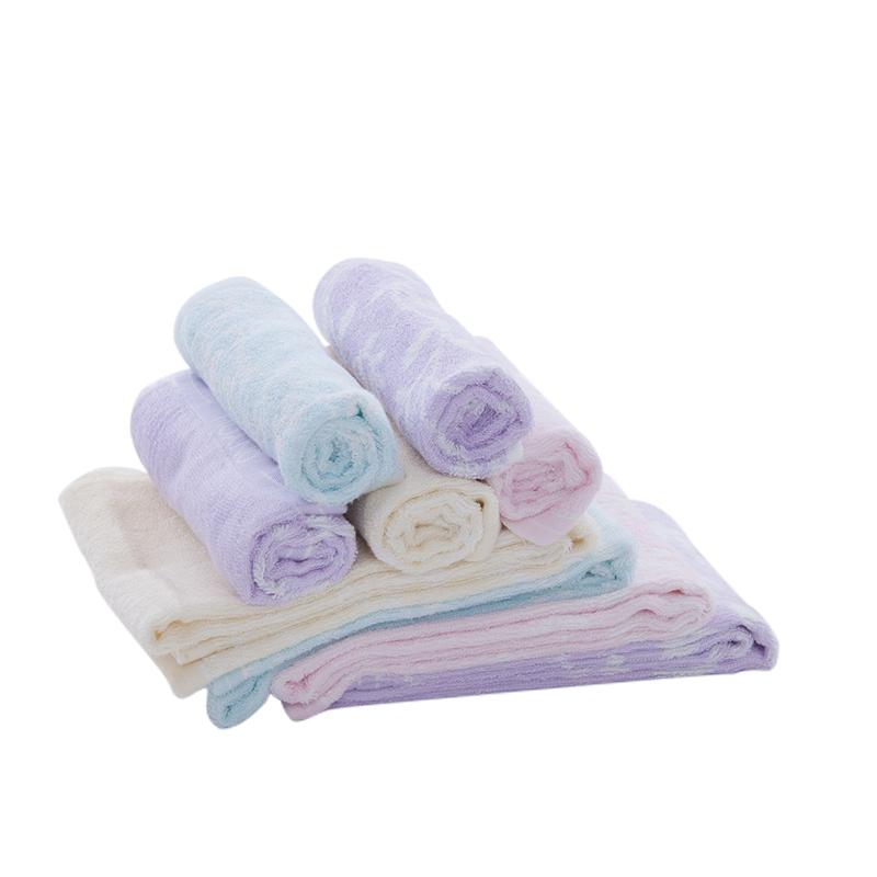 欧林雅 竹纤维毛巾 (6条包邮) XM088