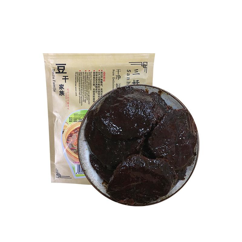 三好食品 豆干家族  素水煮鱼 豆制品 非转基因大豆 休闲食品