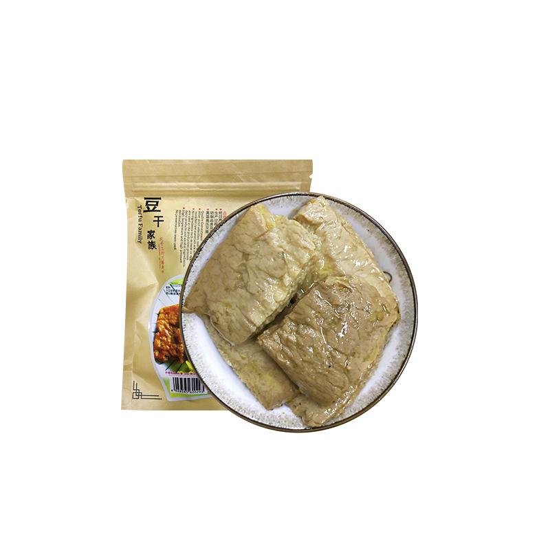 三好食品 豆干家族 泡椒手撕素肉 豆制品 非转基因大豆 休闲食品