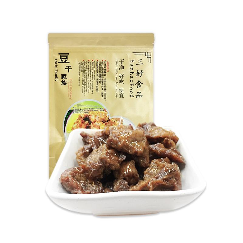 三好食品 豆干家族 猴菇豆干 豆制品 非转基因大豆 休闲食品