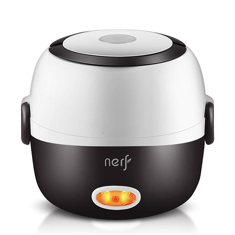 拉尔弗 电热饭盒电蒸锅可插电保温热饭神器自动加热蒸煮器便携迷你电饭煲