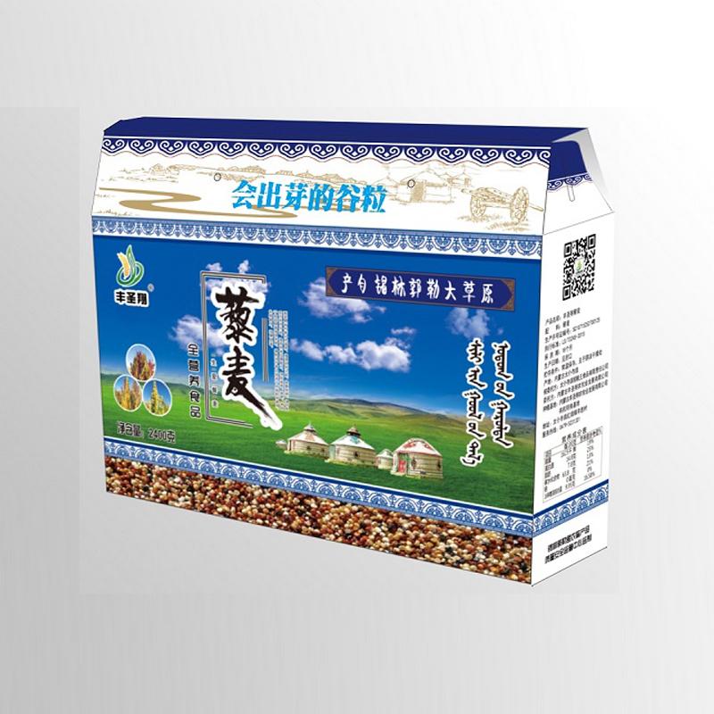 丰圣翔有机实惠藜麦礼盒Ⅰ 400g*6