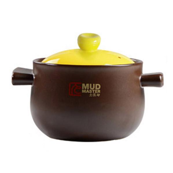 土匠坊 耐热耐高温生态养生煲 陶瓷煲  吉祥三煲 小煲