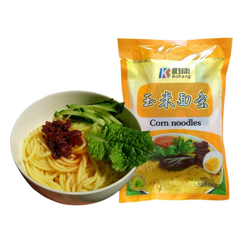 禹粮顺 玉米面条 玉米楂条(230克/包x10包) 东北特产