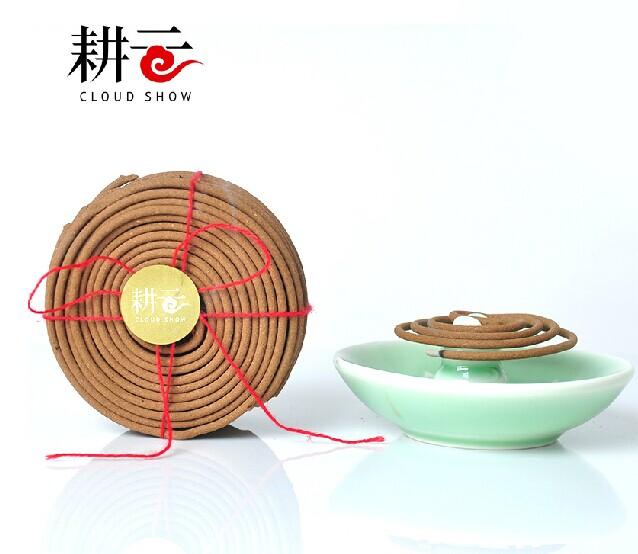 中药养生香·盘香(多地包邮)礼佛香 禅香 耕云系列