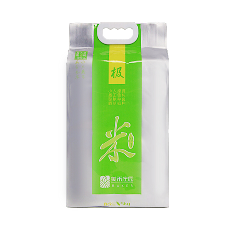 美禾庄园  极系列 M2  五常大米(5公斤装)