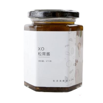 清心湖 XO松茸酱270g 无添加无五辛 健康下饭拌面调味调料