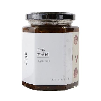 清心湖 台式香菇酱 瓶装270g 无添加拌饭拌面酱 配料食品调味酱料