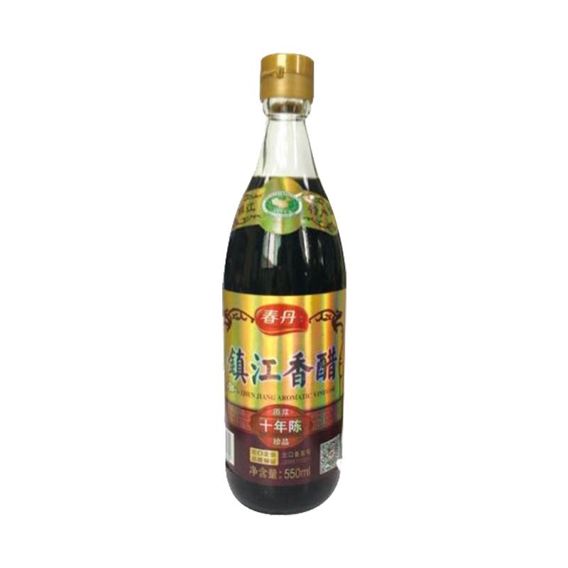 【春丹】镇江香醋十年陈550ml/瓶(4瓶包邮)