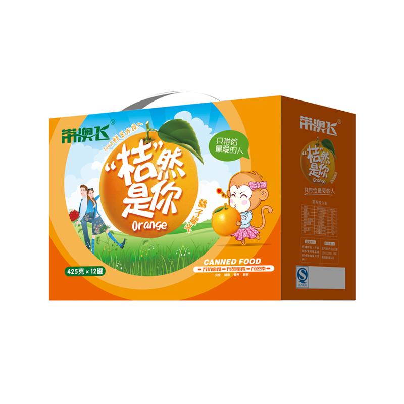 带澳飞 新鲜桔子 水果橘子罐头 桔然是你整箱装砀山特产包邮