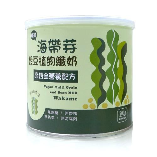 海帶芽穀豆植物纖奶_高鈣