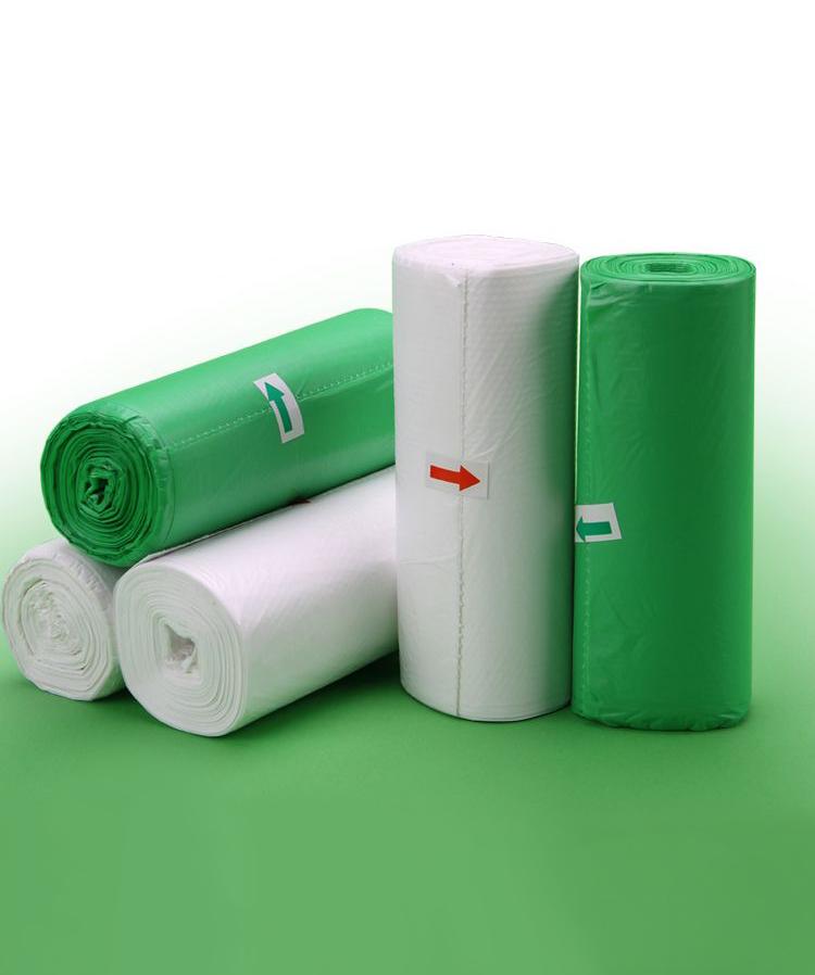 【沃御】环保可降解垃圾袋体验装(车载袋5个+家用环保袋50个)