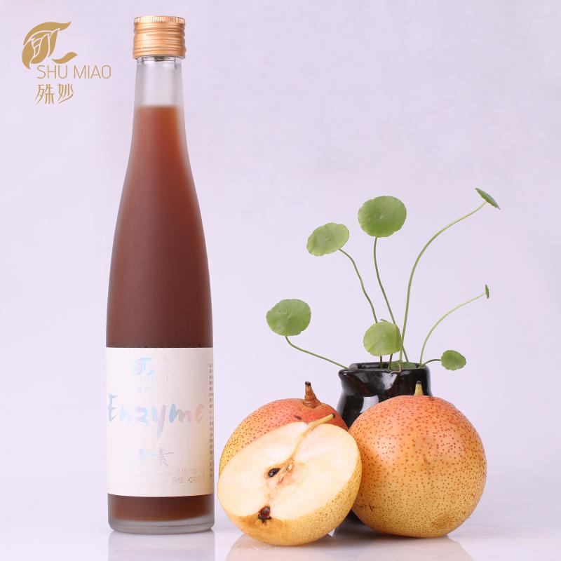 3A满天红红梨酵素玻璃瓶360ml/瓶(包邮)