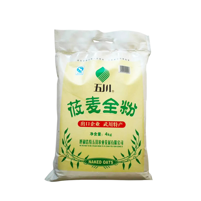 五川.莜麦全粉.面粉.4kg
