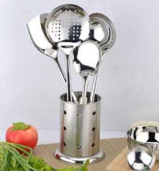 贵夫人五件套(勺铲4件+旋转支架1个)厨房用具
