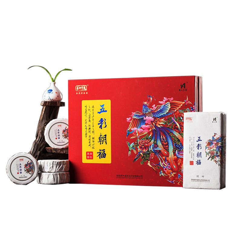 黑茶 安化 高甲皇园 五彩朝福 1518g  2016年茶 茶叶
