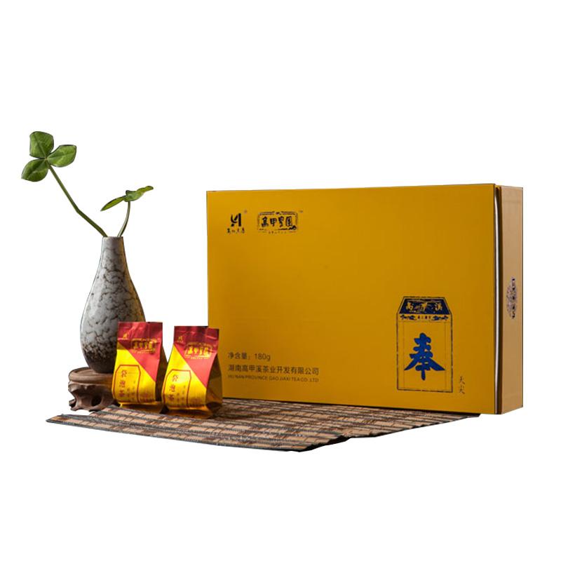 黑茶 安化 高甲皇园 奉(天尖礼盒) 180g  2015年茶 茶叶