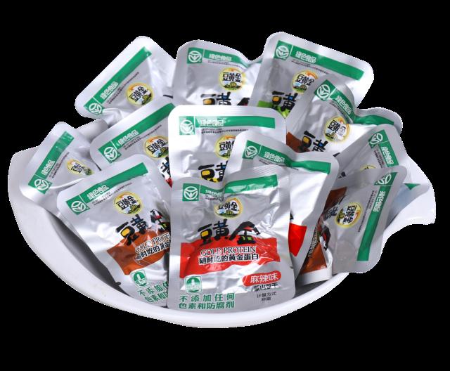 豆黄金【蒙山豆干-120gx4袋】休闲零食 小吃 豆干小包装