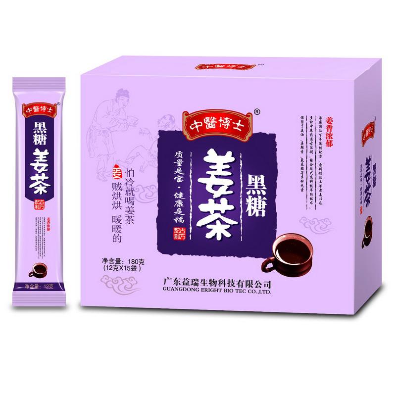 中医博士黑糖姜茶180g(12g*15条)姨妈汤