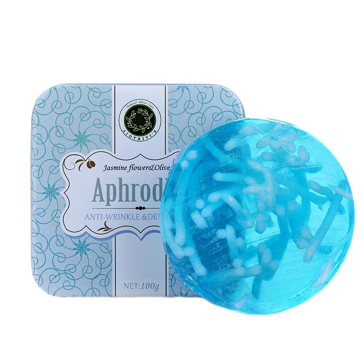 欧洲进口丽巍丝 茉莉花橄榄精油皂 希腊天然护肤品