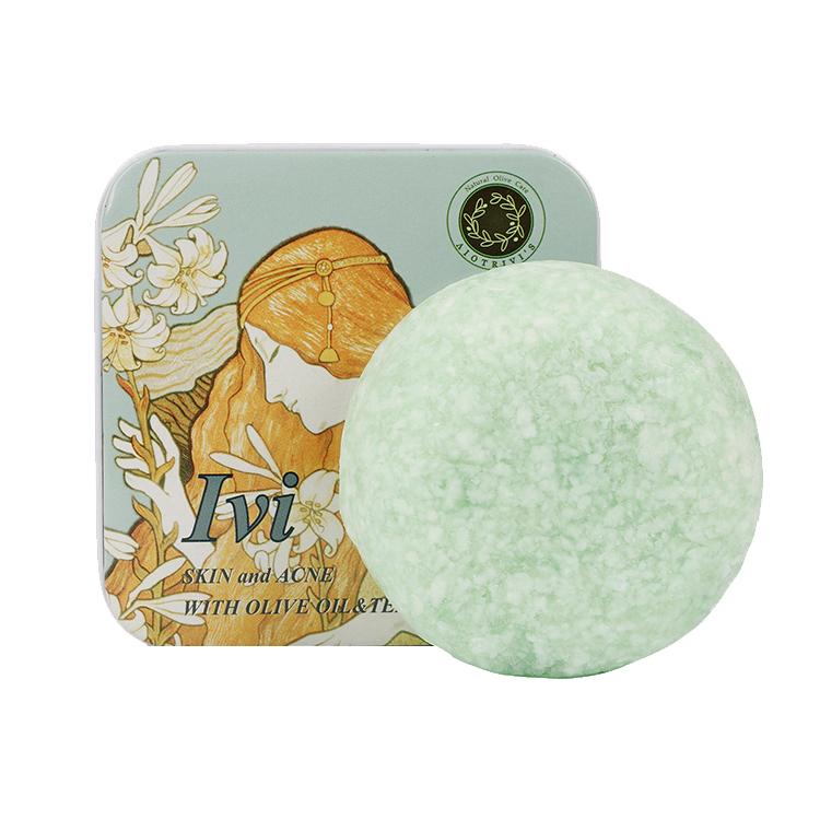 欧洲进口丽巍丝 茶树精油洁面皂  希腊天然护肤品