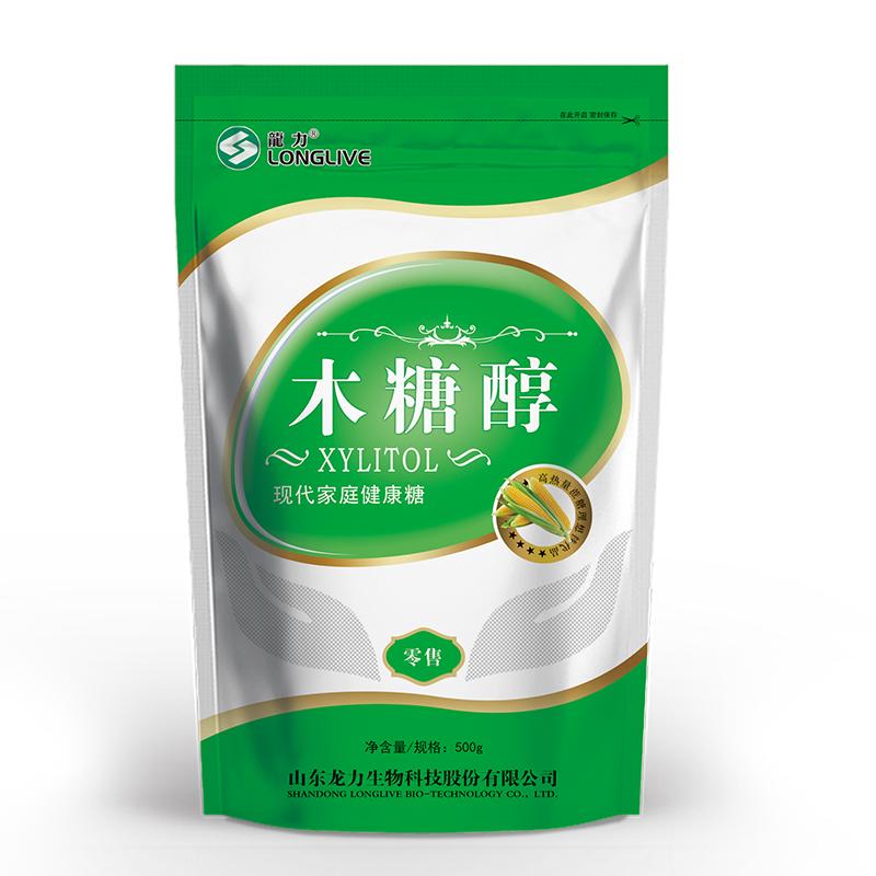 龙力木糖醇500g,3袋包邮代糖无糖食品 甜味剂