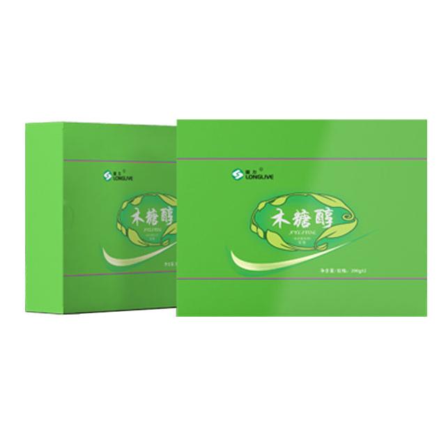 龙力木糖醇 代糖无糖食品 甜味剂 礼盒装(200g×2)/盒 2盒包邮