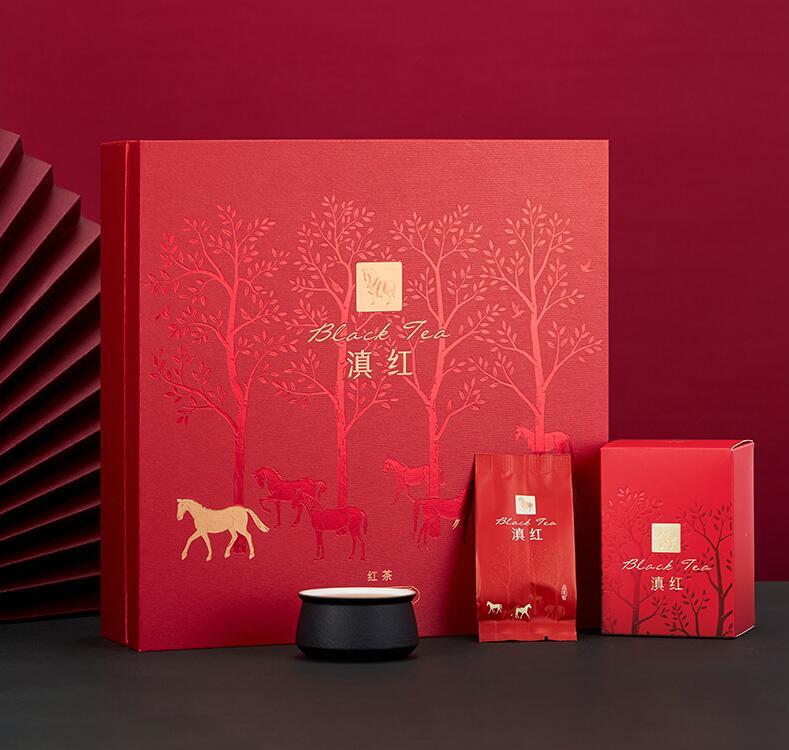 【八马】滇红 金索红360系列192g/盒(6小盒)