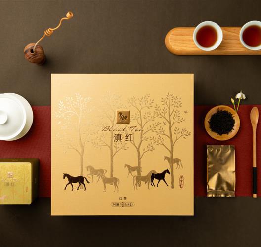 【八马】滇红 金索红500系列 160g/盒(4小盒)