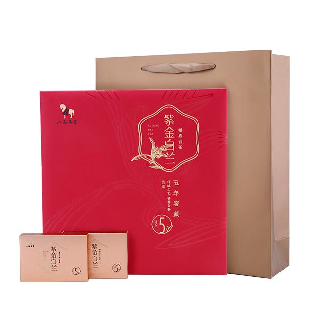 【八马】太姥山福鼎白茶 5年贡眉紫金白兰茶 240g/盒(20g*12小盒)