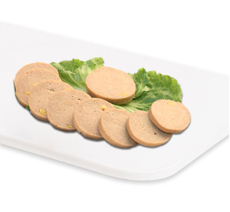 【齐善素食_大善玉米香肠】素食大豆蛋白素肉早餐素肠零食素斋